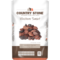 Country Stone Western Sunset
