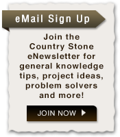 Sign Up for Country Stone's eNewsletters